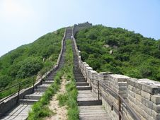 Free The Great Wall In China Royalty Free Stock Images - 5495229