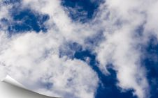 Free Blue Sky Cover Royalty Free Stock Photos - 5495628