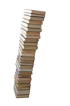 Free High Stack Of Books Stock Photography - 5495652
