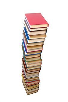 Free High Stack Of Books Royalty Free Stock Photography - 5495657