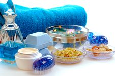 Free Blue Spa Stock Image - 5495681