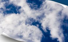 Free Blue Sky Cover Stock Photo - 5495730