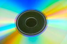 Free Rainbow Disk Stock Image - 5495751