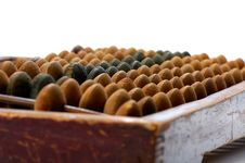 Free Old Abacus Royalty Free Stock Photography - 5495767