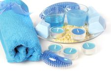 Free Blue Spa Stock Photography - 5495842