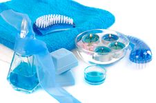 Free Blue Spa Stock Photo - 5495850