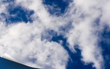 Free Blue Sky Cover Stock Photography - 5495882