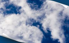 Free Blue Sky Cover Stock Image - 5495931