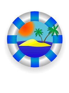 Free Sea Lifebuoy Ring Royalty Free Stock Photo - 5496685