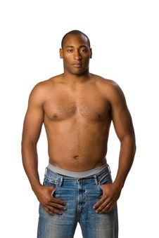 Free Man With No Shirt Royalty Free Stock Photos - 5497358