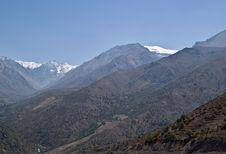 Free La Leonera And El Plomo Mountains Stock Photo - 5497630