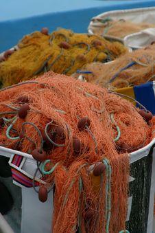 Free Fishing Nets Royalty Free Stock Photos - 5497718