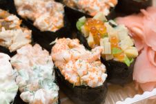 Free Sushi And Ginger Stock Photos - 5498203