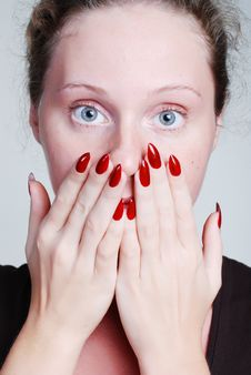 Free Closed Mouth Stock Image - 5499161