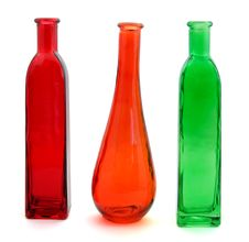 Free Three Bottles Stock Image - 5499181