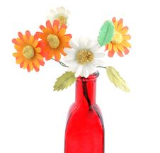 Free Bottle And Flower Royalty Free Stock Image - 5499186