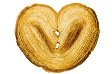 Free Heart Shaped Pastry Cookie Royalty Free Stock Images - 5499359