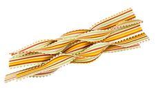 Free Colorful Striped Italian Pasta Stock Image - 5499371