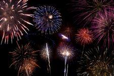 Free Fireworks Celebration Stock Image - 5499431