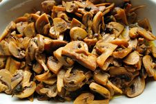 Free Stewed Mushrooms Stock Photography - 5499482