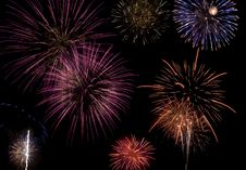 Free Fireworks Celebration Royalty Free Stock Image - 5499706