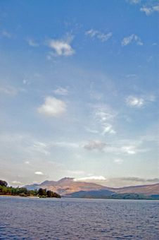 Free Clouds Over The Loch Stock Photography - 5499732