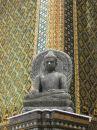 Free Seated Buddha At Grand Palace Royalty Free Stock Photo - 554125