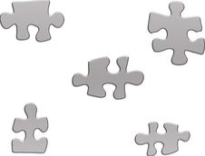 Free Pieces Of Jigsaw Royalty Free Stock Photography - 551037