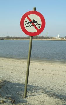 Free Swimming Prohibited Stock Photo - 551330
