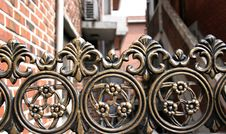 Free Iron Gate Royalty Free Stock Photo - 551575