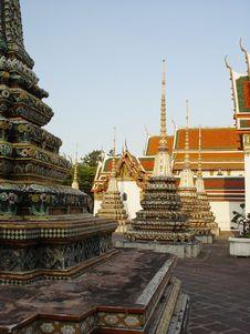 Free Wat Po In Bangkok, Thailand Stock Images - 551824