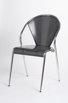 Free Metal Chair II - Metallstuhl II Royalty Free Stock Photography - 552387