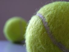 Free Tennis Balls Royalty Free Stock Images - 552429