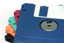 Free Floppy Disks Stock Image - 553971