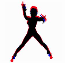 Free Women Shape 3 Royalty Free Stock Photography - 554637