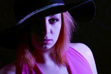 Free Fashion Hat Stock Photos - 554703