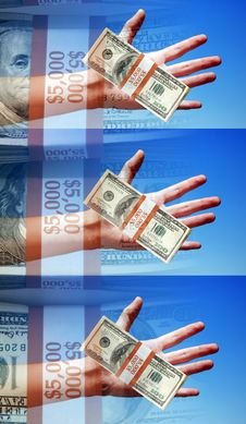 Free Concept Photo, Hands Holding Money, Winners, Payers, Takers, Sig Stock Photo - 554820