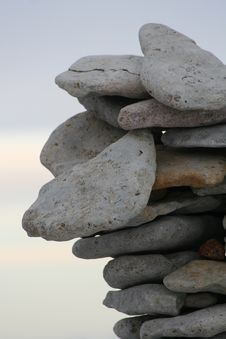 Free Pile Of Stones Royalty Free Stock Photography - 555027