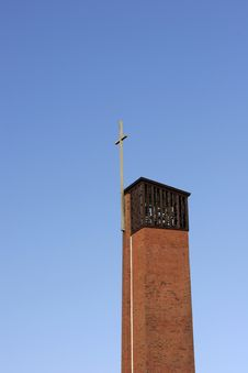 Free Church Belltower Royalty Free Stock Photo - 555615