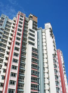 Free HDB Flats Royalty Free Stock Photos - 556098