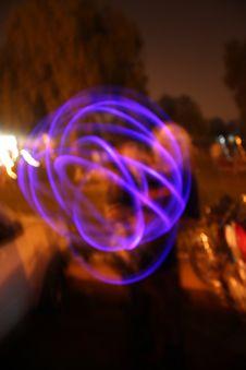 Free Circular Light Streaks..abstract, India Stock Photography - 556352