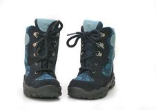 Free Childrens Boots Royalty Free Stock Photos - 556768
