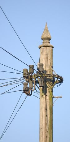 Free Telegraph Pole - Portrait Stock Photography - 556962
