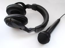 Free Headphones Royalty Free Stock Image - 557586