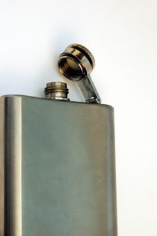 Free Hip Flask 3 Royalty Free Stock Images - 558099