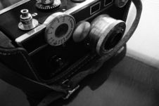 Free Vintage Camera, Black And White Stock Photos - 558203