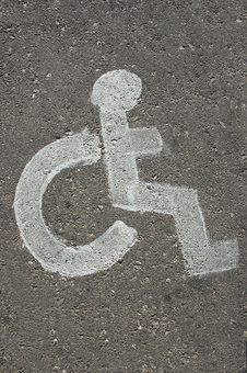 Free Handicapped Parking Sign Royalty Free Stock Image - 558506