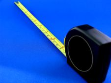 Free Tape Measure Facing Away Royalty Free Stock Photos - 558878