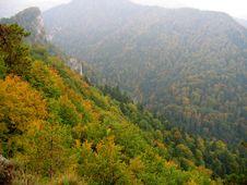Free Mountains In Autumn Stock Image - 559711