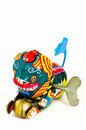 Free Wind-up Toy Chinese Dragon With Key Royalty Free Stock Images - 5500469
